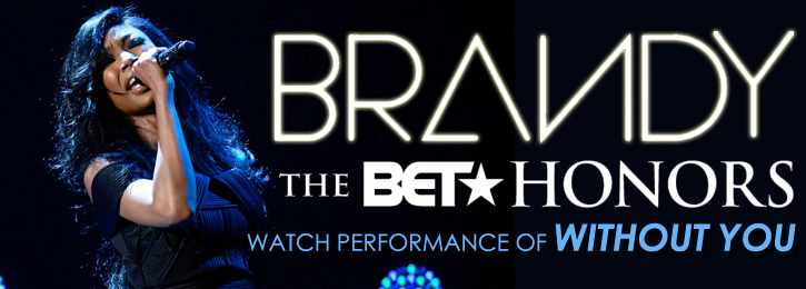 Brandy: 2013 BET Honors