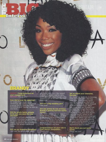 Brandy Hip Hollywood