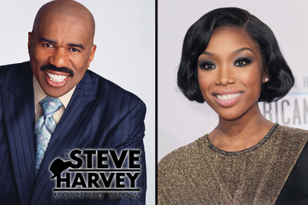 Steve Harvey Morning Show - Brandy