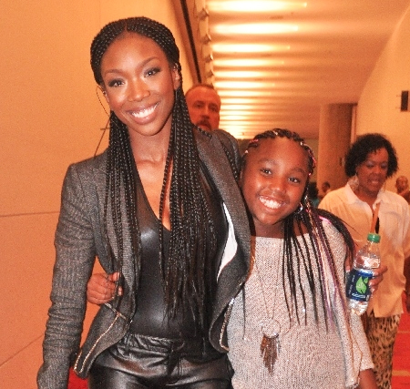 Brandy Norwood & Sy'rai Iman Smith