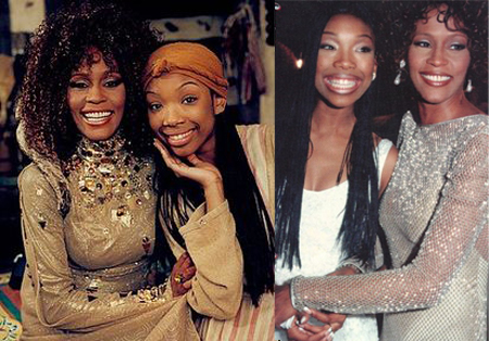 Brandy & Whitney Houston
