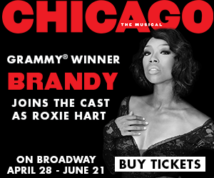 Brandy in CHICAGO on BROADWAY
