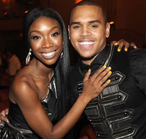 Brandy and Chris Brown