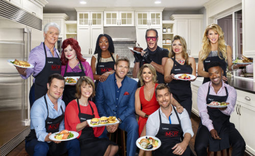 MY KITCHEN RULES: Clockwise from top left: Larry Strickland, Naomi Judd, Brandy, Andrew Dice Clay, Valerie Vasquez, Brandi Glanville, Dean Sheremet, Diane Bass, Curtis Stone, Cat Cora, Lance Bass and Ray J . MY KITCHEN RULES premieres Thursday, Jan. 12 (9:01-10:00 PM ET/PT), on FOX. CR: Michael Becker / FOX. © 2016 FOX Broadcasting Co.