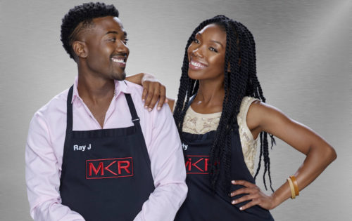 Brandy and Ray J - FOX My Kitchen Rules