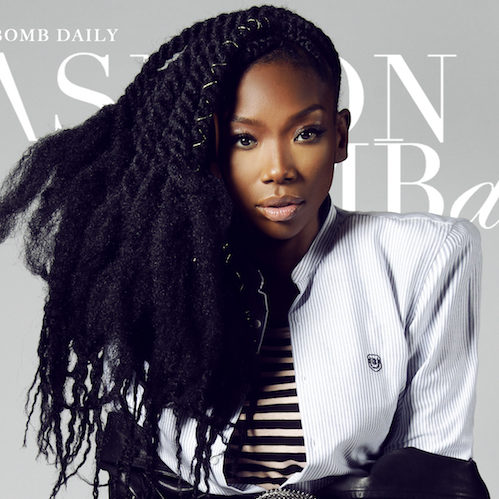 PHOTOS: Brandy Shines in New Photoshoot for Fashion Bomb ...